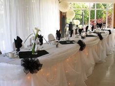 Catering by Colin - Reception Table - Barrie, Ontario