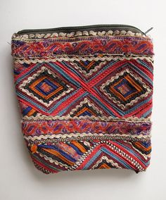 Anja Brunt: ethnic crafts, bags I bought from the Nirona tribal women in Kutch (India). Even the inside is beautiful.