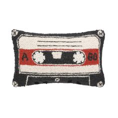 Cassette Tape Pillow by Peking Handicraft