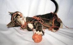 si j'ai vu ta pelote de laine ?... quelle pelote de laine ?!?... pas vue, non...What ball  of wool?