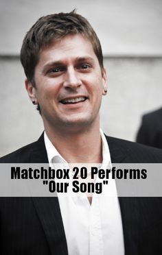 """Matchbox 20 performed their new single from North, """"Our Song."""""""