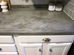 Concrete Countertop Overlay | Countertop, Cement and Overlay