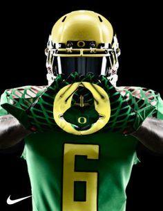 """Die Oregon Ducks """"season opener uniforms"""" sind wieder mal rattenscharf! #kickoff"""