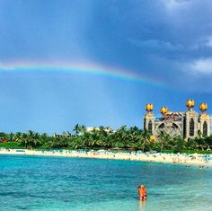 What's at the end of this rainbow is better than gold, its paradise!