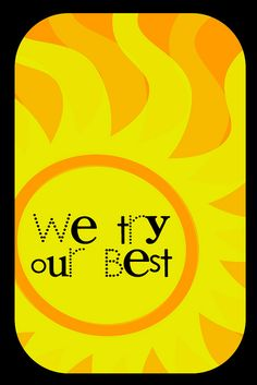We Try Our Best (12x18) by Krissy.Venosdale, via Flickr