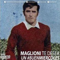 Buenos días diablos! #BuenMiercoles #IdolosIndependiente #EduardoMaglioni #Independiente
