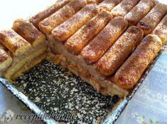 Kipróbált Narancsos gesztenyekocka recept egyenesen a Receptneked. Poppy Cake, No Bake Treats, Hot Dog Buns, Tiramisu, Banana Bread, Goodies, Baking, Breakfast, Sweet