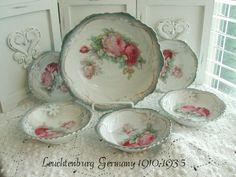 Vintage German porcelain. - Marionberry Cottage.