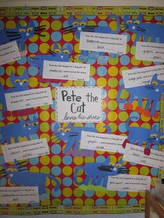 Mrs. Miner's Kindergarten Monkey Business: Who Loves Pete the Cat? and a Secret Sale for My Followers