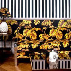 House of Hackney, Stripe Wallpaper http://www.dust.ie/collections/house-of-hackney-wallpapers/products/house-of-hackney-stripes-wallpaper