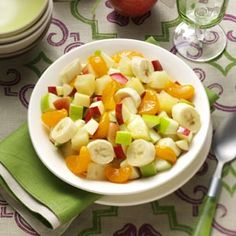 Four-Fruit Compote Recipe from Taste of Home -- shared by Donna Long of Searcy, Arkansas