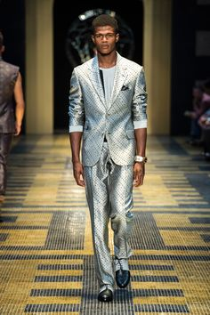 Versace SS13 Mens Catwalk Show | F.TAPE | Fashion Directory