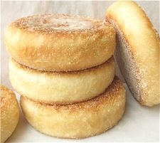 Baked English Muffins
