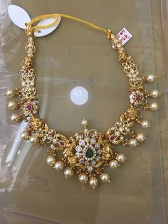 Gold Jewellery Design, Gold Jewelry, Gold Necklace, Antique Necklace, Necklace Set, Jewelry Art, Gold Earrings, Diamond Jewelry, Jewelry Patterns