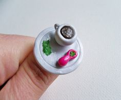 Wake And Bake Ring Ring Size is Adjustable Made from polymer clay Includes: one ring   This super cute ring is packed and ready to go! This necklace is the perfect accessory for festivals, a 420 gift, or most any other occasion!  Check my other listings for more cannabis inspired jewelry.    Dimension of the charm - a little under 1 across (see pics!)   ITEM NOTES • Even though all items are made from clay and are water resistant, I recommend removing your charms before bathing or swimming…