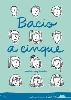 """""""Bacio a cinque"""" is my autobiographic comic book on my childhood, it talks about my first ten years of life.160 pages, black and white, Published by Topipittori."""