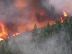 Nine wildfires are raging in the region, mainly in Oregon, stretching resources thin. Natural Resources, Thunderstorms, Pacific Northwest, North West, Climate Change, Oregon, Environment, Weather, Mountains