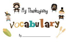 Little Miss Glamour Goes to Kindergarten: Happy Thanksgiving!