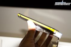 Samsung Galaxy Beam; Thickness 12.5mm thick, Battery 2000 mAh, Projected resolution 640x360