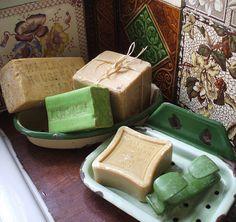 I love old soap!... by the vintage cottage, via Flickr