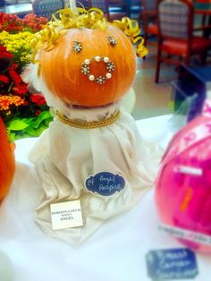 Horizon's Lawlis Family Hospice entered a Pumpkin Decorating Contest at Columbia St. Mary's in Ozaukee! Even though there was a minion in the mix, we still think we are the clear-cut winners!  #GuardianAngel #Pumpkin #Hospice