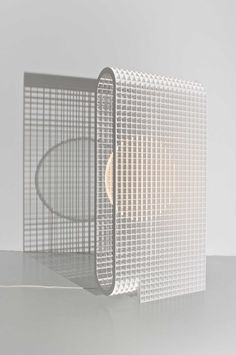 Matrix: A Light and Bench Built From a Grid Structure by OS & OOS - Design Milk