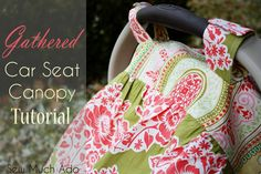 Pin It When Weston was born two and a half years ago, car seat canopys were just coming into existence. It's funny how almost every infant car seat I see now at Walmart or the gym has a canopy. I remember when nursing covers were the same way too, a brand new idea that became …