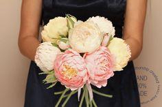paper peony bouquet - etsy