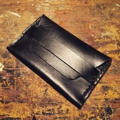 Handmade from beautiful oil-stuffed leather, this flap wallet will hold all the necessary stuff you need for your daily life. Handmade Leather, Wallet, Purses, Diy Wallet, Purse