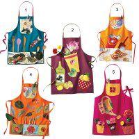 Des tabliers appliqués de poches et motifs - Marie Claire Idées