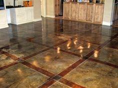 Painted Concrete Floors : Painted Concrete Floors11