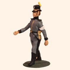 E 064 Infantry Officer c.1807 advancing 30mm Willie Foot  Swedish Napoleonic Wars 1803 to 1815  30mm Willie War game figures  All the figures are made from white metal and are available as unpainted kit, castings, they can also be supplied fully hand painted in matt. #toysoldiers, #miniaturetoysoldiers, #actionfigures, #toystore, #collectibles