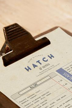 Revert Design | Hatch and Sons