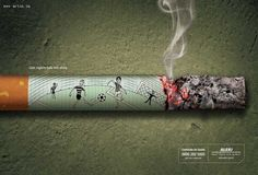 Creative and Clever Anti-Smoking Ads