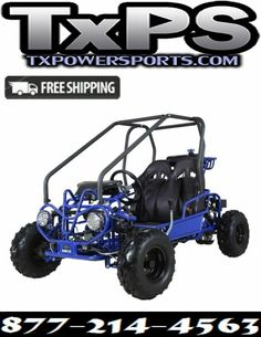 Taotao GK110 110CC Youth Go Kart, Air Cooled, 4-Stroke, 1-Cylinder, Automatic with Reverse Free Shipping Sale Price: $1,299.95 Go Kart Buggy, Entry Level, Big Boys, Dune, Outdoor Power Equipment, Youth, Free Shipping, Cool Stuff, Kids