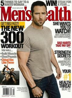 J BRAND Men's Kane in Revelled covers this month's issue of Men's Health.