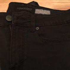 Aeropostale high waisted Jegging Aeropostale high waisted Jegging size 6.  74% cotton/24% polyester/2% spandex. Aeropostale Jeans Skinny