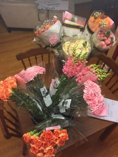 Ordered Flowers From Costco For My Sisters Bridal Party Bouquets