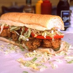 Recipe For  New Orleans Oyster Po boy