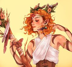 character art Our fan art gallery for the week of Dnd Characters, Fantasy Characters, Female Characters, Character Concept, Character Art, Concept Art, Character Sheet, Illustration Inspiration, Critical Role Fan Art
