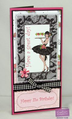 Here are a few quick and simple cards using the Frou Frou CD-ROM from Crafter's Companion . Hand Made Greeting Cards, Card Companies, Frou Frou, Crafters Companion, Cool Cards, Adult Coloring Pages, Cardmaking, Card Stock, Birthday Cards