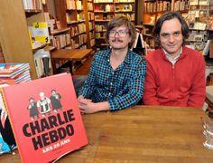 Luz et Riss #Charlie #hebdo