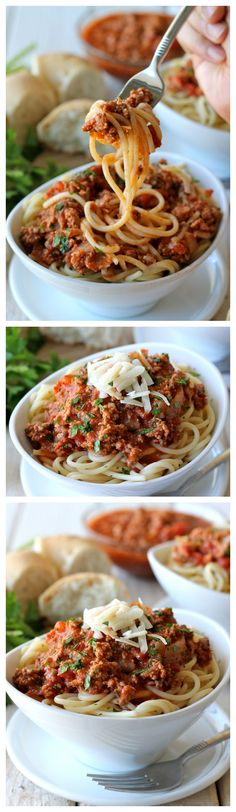 Bolognese Sauce - Homemade ragu that tastes so much better than the bottled stuff!