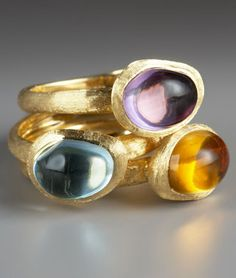 Marco Bicego Confetti Gemme rings