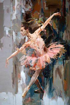 Ballerina 29 Painting by Mahnoor Shah