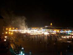 Marrakech by night_Jemaa El Fna