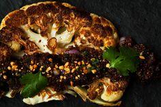 Cauliflower-with-Quinoa-Prunes-and-Peanuts / Photo by Maura McEvoy