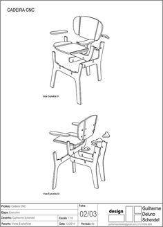 Cnc Chair on Behance Folding Furniture, Diy Pallet Furniture, Recycled Furniture, Chair Sofa Bed, Swivel Rocker Recliner Chair, Plywood Chair, Plywood Furniture, Wood Chair Design, Furniture Design