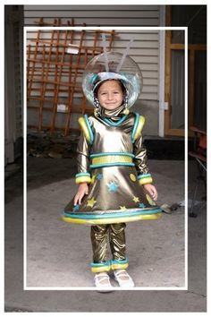 Space girl Martian Halloween costume
