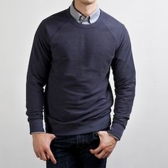 Everlane The Men's French Terry in Slate